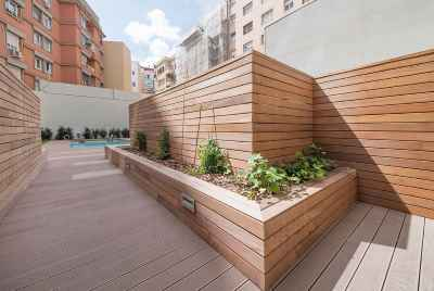 New duplex with community swimming pool in Barcelona
